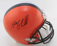 Nick Chubb Signed Browns Full-Size Helmet (JSA COA) at PristineAuction.com