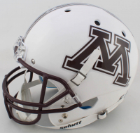 "P. J. Fleck Signed Minnesota Golden Gophers Full-Size Helmet Inscribed ""R.T.B!"" (Beckett COA) at PristineAuction.com"