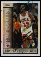 Michael Jordan 1996-97 Topps Holding Court Refractors #HC2 at PristineAuction.com