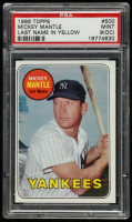 Mickey Mantle 1969 Topps #500A UER (PSA 9) (OC) at PristineAuction.com