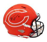 Brian Urlacher Signed Bears Full-Size Authentic On-Field AMP Alternate Speed Helmet (Radtke COA) at PristineAuction.com