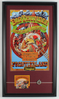 "Walt Disney's ""Big Thunder Mountain Railroad"" 15x26 Custom Framed Print Display with Tokyo Disneyland Phone Card & Souvenir Pendant at PristineAuction.com"