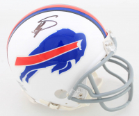 Stefon Diggs Signed Bills Mini-Helmet (Beckett COA) at PristineAuction.com