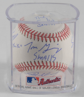 """""""The Sandlot"""" Baseball Cast-Signed By (6) with Tom Guiry, Chauncey Leopardi, Marty York, Victor Di Mattia with Multiple Inscriptions (Beckett COA) at PristineAuction.com"""