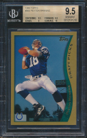 Peyton Manning 1998 Topps #360 RC (BGS 9.5) at PristineAuction.com