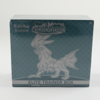 Pokemon TCG: Sun & Moon: Crimson Invasion Elite Trainer Box with (8) Booster Packs at PristineAuction.com