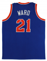 "Charlie Ward Signed Jersey Inscribed ""Go Knicks!"" (Beckett COA) at PristineAuction.com"