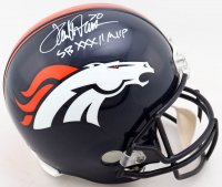 "Terrell Davis Signed Broncos Full-Size Helmet Inscribed ""SB XXXII MVP"" (JSA COA) at PristineAuction.com"