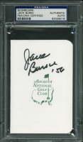 "Jack Burke Sr. Signed Augusta National Golf Club Scorecard Inscribed ""'56"" (PSA Encapsulated) at PristineAuction.com"