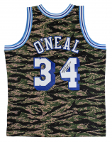 Shaquille O'Neal Signed 1996-97 Camo Lakers Jersey (Beckett COA) at PristineAuction.com