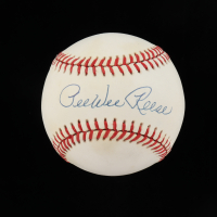 Pee Wee Reese Signed ONL Baseball (Beckett COA) at PristineAuction.com