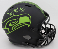 DK Metcalf Signed Seahawks Full-Size Eclipse Alternate Speed Helmet (Beckett COA & Sports Memorabilia COA) (See Description) at PristineAuction.com