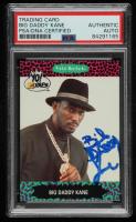 Big Daddy Kane Signed 1991 YO! MTV Raps Complete Series #8 (PSA Encapsulated) at PristineAuction.com