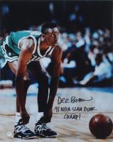 "Dee Brown Signed Celtics 16x20 Photo Inscribed ""91 NBA Slam Dunk Champ!"" (PSA Hologram) at PristineAuction.com"