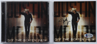 """Justin Moore Signed """"Off The Beaten Path"""" CD Album Cover (Beckett COA) at PristineAuction.com"""