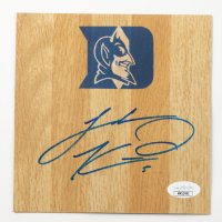 Luke Kennard Signed Duke Blue Devils 6x6 Floor Piece (JSA COA) at PristineAuction.com