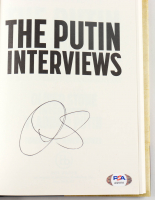 """Oliver Stone Signed """"The Putin Interviews: Oliver Stone Interviews Vladimir Putin"""" Hardcover Book (PSA COA) at PristineAuction.com"""