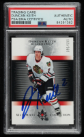 Duncan Keith Signed 2005-06 Ultimate Collection #141 RC (PSA Encapsulated) at PristineAuction.com