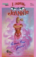 "Barbara Eden Signed 2002 ""I Dream of Jeannie"" Issue #1 Airwave Comics Comic Book Inscribed ""Jeannie"" (JSA COA) at PristineAuction.com"