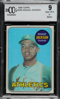 Reggie Jackson 1969 Topps #260 RC (BCCG 9) at PristineAuction.com
