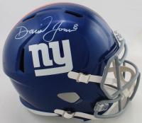 Daniel Jones Signed Giants Full-Size Speed Helmet (Beckett COA) (See Description) at PristineAuction.com