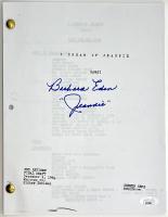 "Barbara Eden Signed ""I Dream Of Jeannie"" TV Script (JSA COA) at PristineAuction.com"