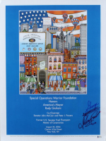 """Charles Fazzino Signed """"Special Operations Warrior Foundation"""" 18x24 Print (Beckett COA) at PristineAuction.com"""