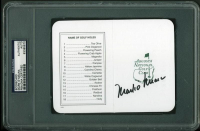 Mark O'Meara Signed Augusta National Golf Club Scorecard (PSA Encapsulated) at PristineAuction.com
