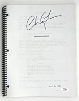 """Chevy Chase Signed """"National Lampoon's Christmas Vacation"""" Movie Script (PSA COA) at PristineAuction.com"""