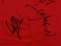 Manchester United F.C. Jersey Team-Signed By (18) With David Beckham, Teddy Sherringham, Ryan Giggs, Dwight Yorke, Ole Gunnar Solskjaer (JSA LOA) at PristineAuction.com