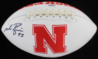 Mike Rozier Signed Nebraska Cornhuskers Logo Football (Playball Ink Hologram) at PristineAuction.com