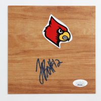 Terry Rozier Signed Louisville Cardinals 6x6 Floor Piece (JSA COA) at PristineAuction.com