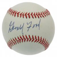 Gerald Ford Signed OL Baseball (PSA LOA) (See Description) at PristineAuction.com