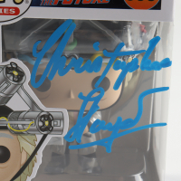 """Christopher Lloyd Signed """"Back To The Future"""" #959 Doc With Helmet Funko Pop Figure (Beckett COA) at PristineAuction.com"""