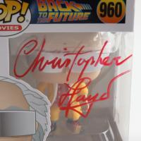 "Christopher Lloyd Signed ""Back To The Future"" #960 Doc 2015 Funko Pop! Vinyl Figure (Beckett COA) at PristineAuction.com"