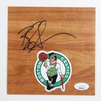 Brad Stevens Signed Celtics 6x6 Floor Piece (JSA COA) at PristineAuction.com