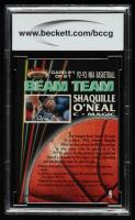 Shaquille O'Neal 1992-93 Stadium Club Beam Team #21 (BCCG 9) at PristineAuction.com