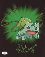 "Tara Sands Signed ""Pokemon"" 8x10 Photo Inscribed ""Bulbasaur"" (JSA COA) at PristineAuction.com"