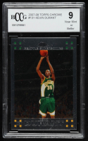 Kevin Durant 2007-08 Topps Chrome #131 RC (BCCG 9) at PristineAuction.com