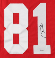 Marian Hossa Signed Red Wings Jersey (Beckett COA) at PristineAuction.com