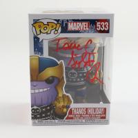 "Isaac C. Singleton Jr. Signed Marvel #533 ""Thanos (Holiday)"" Funko Pop! Vinyl Figure (Beckett COA) (See Description) at PristineAuction.com"