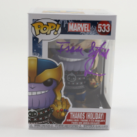 "Isaac C. Singleton Jr. Signed Marvel #533 ""Thanos (Holiday)"" Funko Pop! Vinyl Figure (Beckett COA) at PristineAuction.com"