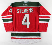 Scott Stevens Signed Devils Captain Jersey (Beckett COA) at PristineAuction.com