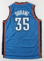Kevin Durant Signed Thunder Jersey (Beckett COA) (See Description) at PristineAuction.com
