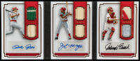 Joe Morgan / Johnny Bench / Pete Rose 2016 Panini Pantheon The Enlightened Ones Materials Scripts Bronze #2 at PristineAuction.com
