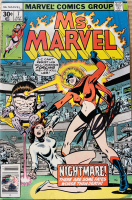 "Stan Lee Signed 1977 ""Ms. Marvel"" Issue #7 Marvel Comic Book (Lee COA) at PristineAuction.com"