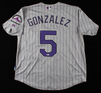 Carlos Gonzalez Signed Rockies Jersey (Beckett COA) at PristineAuction.com