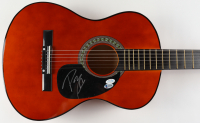 "Post Malone Signed 38"" Acoustic Guitar (AutographCOA COA & Beckett COA) (See Description) at PristineAuction.com"