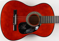 Tyler Hubbard & Brian Kelley Signed Full-Size Acoustic Guitar (AutographCOA COA & Beckett COA) (See Description) at PristineAuction.com