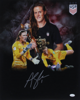 Alyssa Naeher Signed Team USA 16x20 Photo (JSA COA) (See Description) at PristineAuction.com